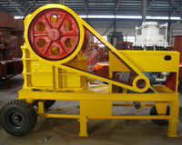 diesel drive small crusher