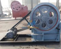 Final product picture of Jaw crusher PE 250×400