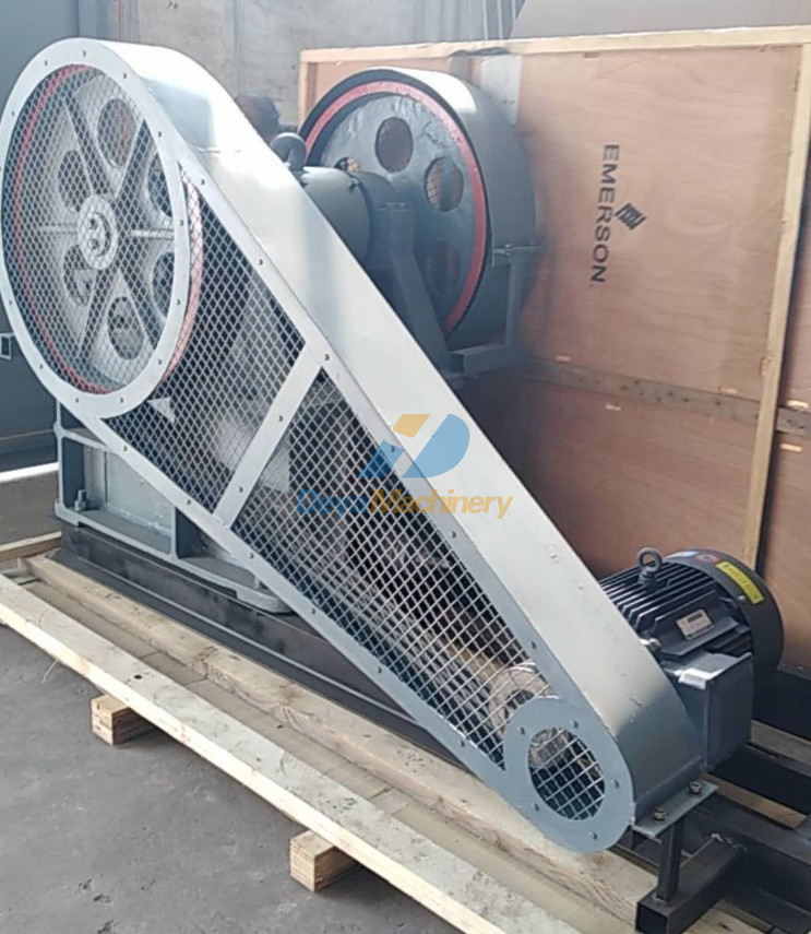 Jaw crusher PE250x400 - Packing for delivery