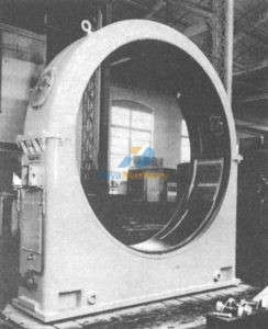 oil-lubricated trunnion bearing